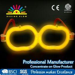 Resplandor multicolor con Forma de Calabaza Palos de la luz de gafas de fiesta de Halloween