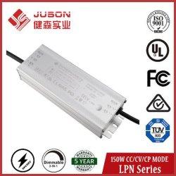 Juson 150Вт постоянного тока светодиодный драйвер постоянной мощности для светодиодного освещения улиц UL TUV Сертификация FCC с 5 лет гарантии
