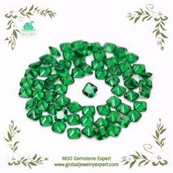 Контроллер GEM MGO синтетических зеленый/синий/розовый/желтый/подушки с шампанским Nano/Nanosital поставщиком драгоценных камней в Китае