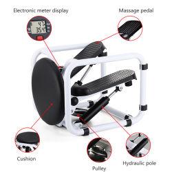조절식 트위스트(유압 저항 대형 미끄럼 방지 발판 및 포함 LCD 모니터 스텝퍼