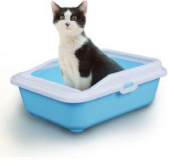 Caixa de serapilheira Cat abrir a bandeja superior da bandeja de papel higiénico com caixa de serapilheira profunda Scooper16199 Esg da bandeja