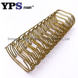 Anello molle del collegare del ciclo del doppio dell'oro di prezzi di promozione di YPS