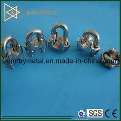 Tipo clip del acero inoxidable JIS de cuerda de alambre/abrazadera