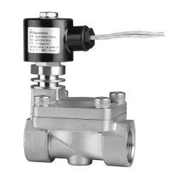 Válvula Solenóide de vapor - 2/2 vias Perated piloto de alta temperatura (Baixo) (SLB)