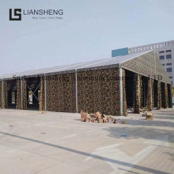 Grande Structure de trame en aluminium Outdoor Camping tente d'entrepôt de l'armée d'exposition