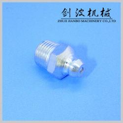 Graisseur à pression en acier standard pour la lubrification certifié ISO (MÉTRIQUE10MMX1 droites)