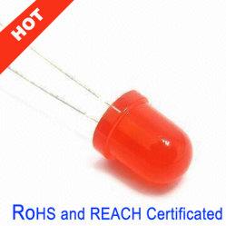 5mm redondo super brillante LED rojo (5mm ultra brillante LED).