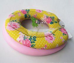 グループの母赤ん坊PVC柔らかい便座カバー