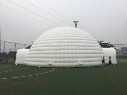Pubblicità della tenda gonfiabile del partito di mostra di evento della famiglia della cupola esterna dell'iglù