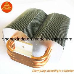 Semáforo de perforación de estampado de disipador de calor del radiador/ estampado SX012.