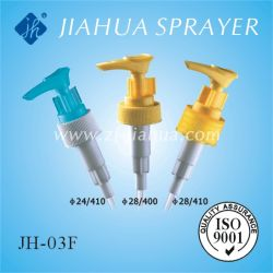Distributeur de Savon liquide en plastique de la pompe pour le lavage des mains (JH-03F)