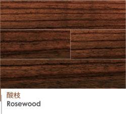Haut -Fin de l'Indonésie Rosewood Handscraped solide de feuillus Engineered Wood Flooring