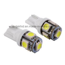 Super qualité T10 5SMD 5050 W5w Blanc / Bleu / Rouge / LED LED Ampoule