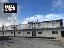 Twee verdiepingen geprefabriceerde modulaire K House Labor Camp accommodatie in Project Midden-Oosten
