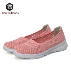 Design Calçado de desporto para as mulheres escorregar no tênis de moda de baixo custo