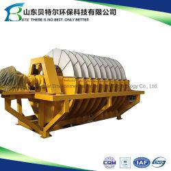 Industria minera de cerámica de deshidratación de lodos Filtro de vacío