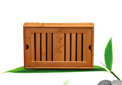 Kung Fu juego de té de bambú bandeja de té de madera