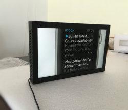 15,6 polegadas LCD Full HD Expositor