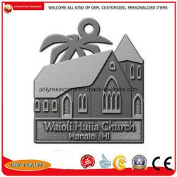 Ornament van de Kerk van de Producten van het tin het Materiële van de Arts. van de Legering van het Zink
