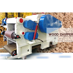 8-12 t/h de la fábrica trituradora Shredder gran bosque Professional Horizontal transportador de alimentación eléctrica de la rama de árbol de la máquina de registro Industrial biotrituradora Diésel