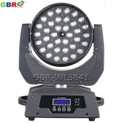 Gbr-Wl3641 36X10W RGBW LED Summen-Wäsche-bewegliches Hauptlicht