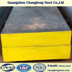 SAE1045 S45C de acero al carbono mediano de acero de molde de plástico