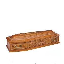 도매 솔리드 오크 나무 관 장례식 TD--E28
