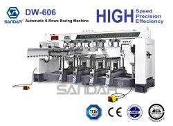 Automatisches Bohren der Holzbearbeitung-6-Rows und Bohrgeräte