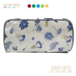 Dama moda señoras Bolso Bolso de embrague colorido verano Mini Zipper PU Bolsa Bolsa de cosméticos Bolsa maquillaje Accesorios de moda