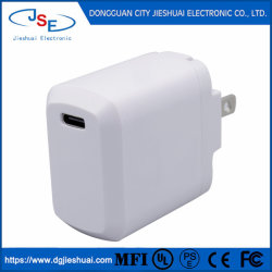 이동 전화를 위한 C 충전기 USB 충전기 벽 또는 배터리 충전기 여행 충전기를 타자를 치십시오