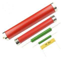Ri80 resistore ad alta tensione cilindrico, resistore di pellicola spessa non induttivo di alto potere 100W 100mr