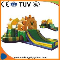 Im Freien aufblasbarer Löwe-federnd Plättchen-Spielzeug (WK-W1026)