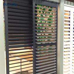 Aluminiumplantage-Blendenverschlüsse, die Blendenverschluß Windows und Türen schieben