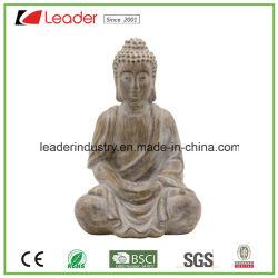 Polyresin estatua de Buda Jardín Decoración para la decoración del hogar y jardín ornamentos