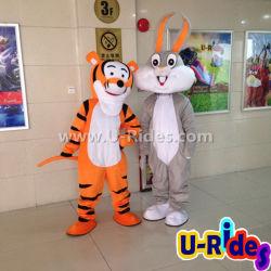 Het Kostuum van de Mascotte van het beeldverhaal voor Carnaval