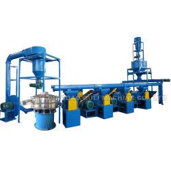 Planta de reciclaje de neumáticos de residuos y reciclaje de llantas de línea de producción de polvo de caucho