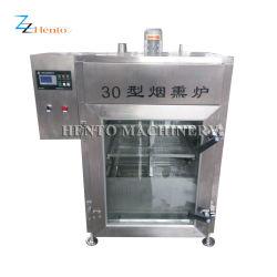 Venta de carne caliente eléctricos del procesamiento de pescado de la máquina de fumar