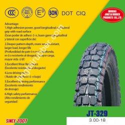 Nylonriemen-18 Vorspannungs-Gummireifen-Querland-Muster-Niederdruck-Naturkautschuk-Motorrad-Gefäß-Reifen-Gummireifen des Zoll Soem-neuer 6pr (3.00-18) mit ISO CCC ECE