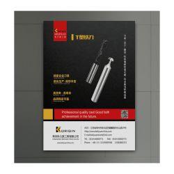 Gebildet China-neue Ankunfts-Großhandelsform-in der modischen bekanntmachenden Zubehör-Fahnen-Modell-Stick-on Schaumgummi-Vorstand-Plakat-Fahne
