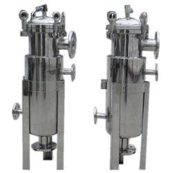バッグフィルタの収容のステンレス鋼の液体ろ過
