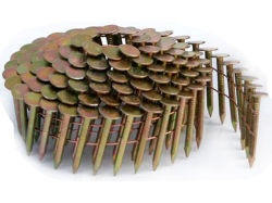 Galvanizado Electro mango suave techado de la bobina Mayorista de uñas