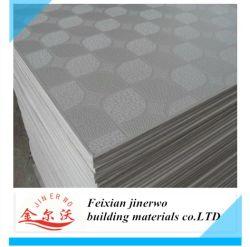 Kurbelgehäuse-Belüftung lamellierter Gips-Decken-Vorstand mit dem Aluminiumfolie-Schutzträger (feuerfest)
