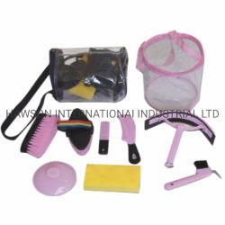 Kit de aseo y acicalamiento establece/Herramientas de limpieza/cepillo caballo