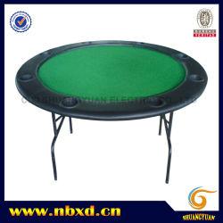Mesa de pôquer redonda com perna de ferro (SY-T03)