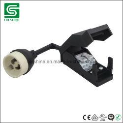 VDE Listied GU10 Suporte da Lâmpada de halogéneo de cerâmica com caixa de junção