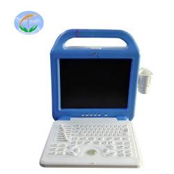 El equipo de diagnóstico por ultrasonido B/W animales Utrasound Escáner portátil