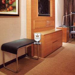 Hotel portaequipajes de metal para las maletas con las patas de acero inoxidable 201