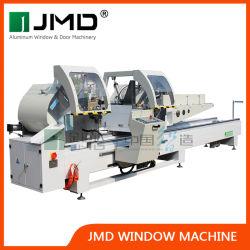 2020 Nouveau/bois aluminium/PVC/UPVC double tête de scie de coupe de profil/profil aluminium scie de coupe/ aluminium porte fenêtre Making Machine/Scie à onglet double