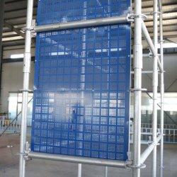 Preço por grosso de fábrica da rede de segurança de materiais de andaimes