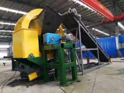 Überschüssiges OTR Rad, welches die überschüssige Gummireifen-Zerkleinerungsmaschine aufbereitet Maschine zerreißt
